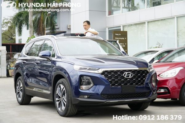 Hyundai SantaFe 2019 Mau Xanh Cao cap