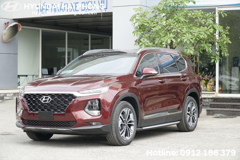 Hyundai SantaFe mau do